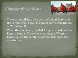Chapter 18 Section 1