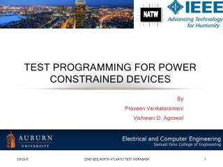Test Programming for power constrained devices