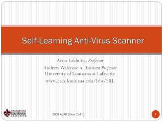 Self-Learning Anti-Virus Scanner