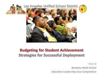 Budgeting for Student Achievement Strategies for Successful Deployment