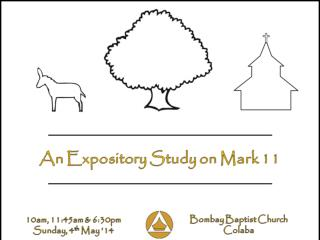 Mark 11: 1-11