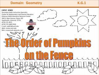Domain:  Geometry                                          K.G.1