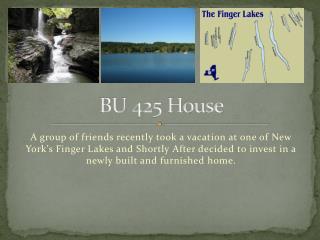 BU 425 House