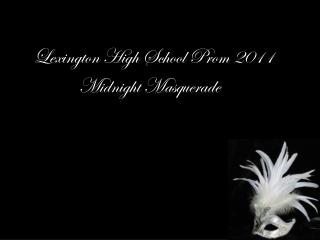 Lexington High School Prom 2011