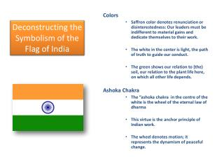 Deconstructing the Symbolism of the Flag of India