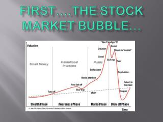 First�.the Stock Market Bubble�