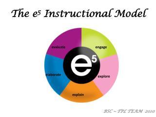 The e 5  Instructional Model
