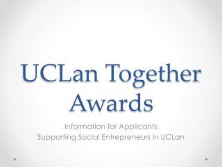 UCLan Together Awards