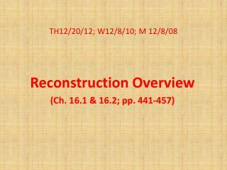 TH12/20/12; W12/8/10; M 12/8/08