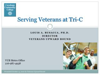 Serving Veterans at Tri-C