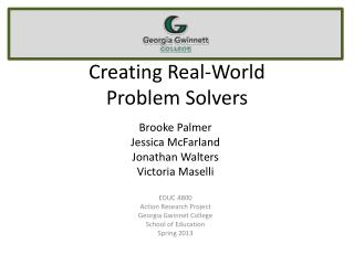 Creating Real-World Problem Solvers
