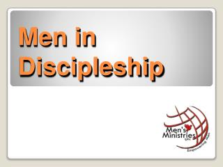 Men in Discipleship