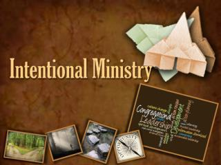 Intentional Ministry