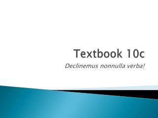 Textbook 10c