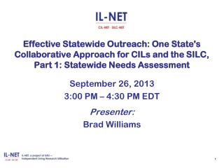 SPIL Statutory Requirements Relating to Outreach Efforts