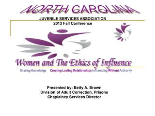 JUVENILE SERVICES ASSOCIATION 2013 Fall Conference