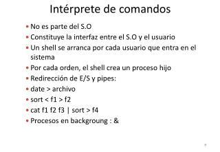 Intérprete de comandos