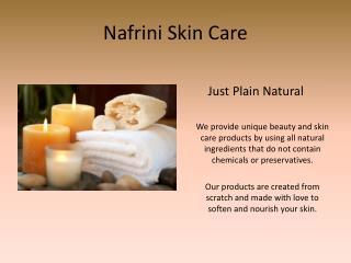 Nafrini Skin Care