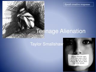 Teenage Alienation