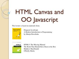 HTML Canvas and  OO Javascript