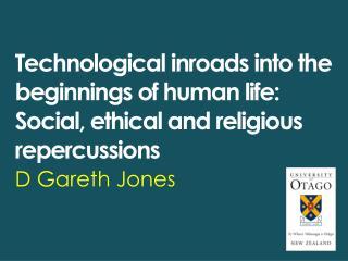 D Gareth Jones