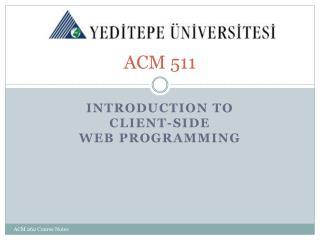 ACM 511