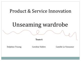 Product & Service Innovation