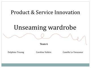 Product & Service Innovation