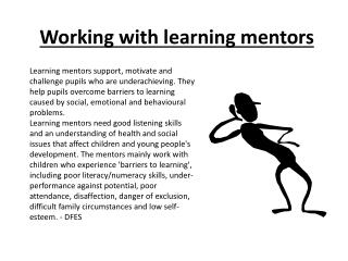 Working with learning mentors