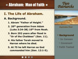 Abraham:  Man of Faith