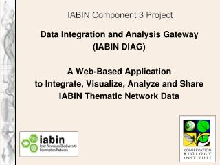 IABIN Component 3 Project