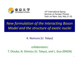 New formulation of the Interacting Boson Model and the structure of exotic nuclei
