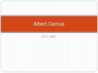 albert camus definition of the absurd man Although this concept is quite consistent and stable in his writings, the absurd is, as albert camus stressed and tries to make clear, the fundamental disharmony, a tragic incompatibility between human existence and the world which man finds himself unto.