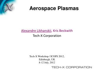 Aerospace Plasmas