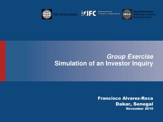 Group Exercise Simulation of an Investor Inquiry