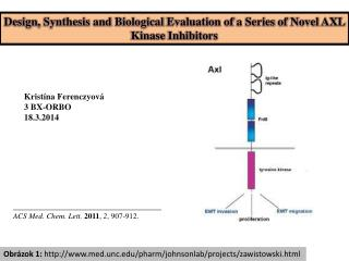 Design ,  Synthesis  and  Biological Evaluation of  a  Series of Novel  AXL  Kinase Inhibitors