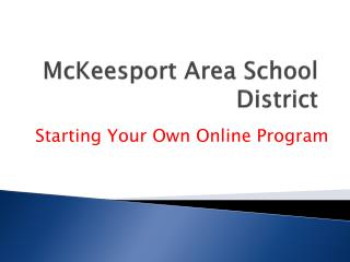 McKeesport Area School District