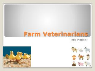 Farm Veterinarians