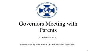 Governors Meeting with Parents