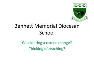Bennett Memorial Diocesan School