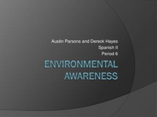 Environmental Awareness