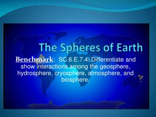The Spheres of Earth