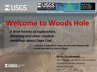 Welcome to Woods Hole