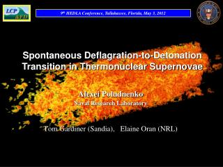 Spontaneous  Deflagration-to-Detonation Transition in Thermonuclear Supernovae