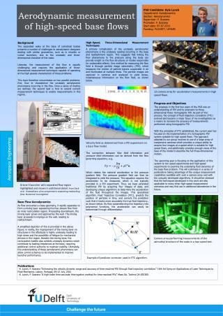 Aerodynamic measurement of high-speed base flows