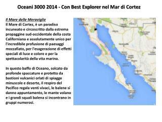 Oceani  3000 2014 - Con Best Explorer  nel  Mar di Cortez