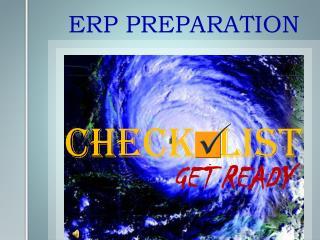 ERP PREPARATION