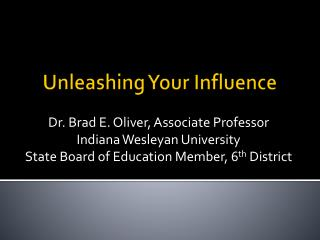 Unleashing Your Influence