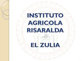 INSTITUTO AGRICOLA RISARALDA EL ZULIA