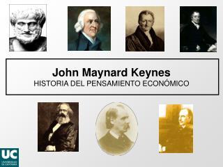 John Maynard Keynes HISTORIA DEL PENSAMIENTO ECONÓMICO